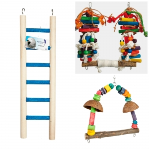 Adventure Bound Large Bird Toys - Pack 2