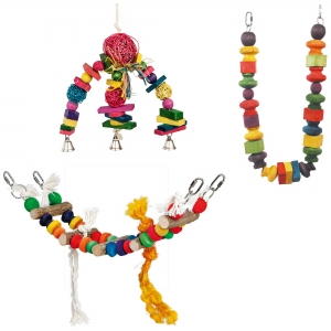 Adventure Bound Medium Bird Toys - Pack 1