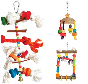 Adventure Bound Bird Toys Pack 3