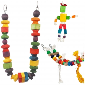 Adventure Bound Bird Toys - Pack 4