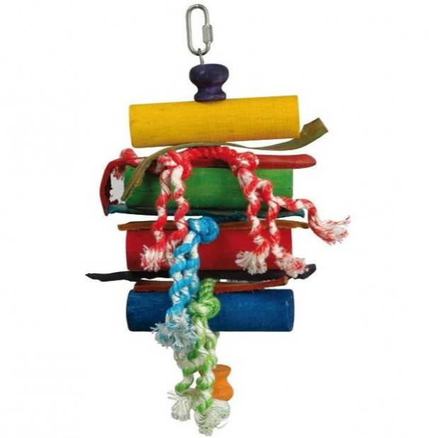 2503 Blocks & Knots bird toy